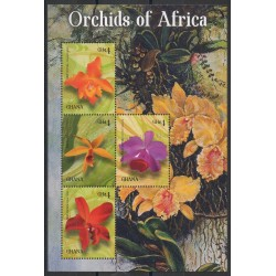Ghana - 2015- No 3537A/3537D - orchidées