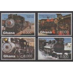 Ghana - 2005 - No 3048/3051 - Chemins de fer