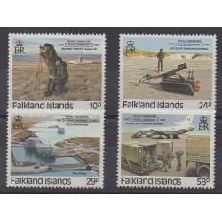 Falkland - 1987 - Nb 472/475 - Military history