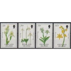 Falkland - 1991 - No 549/552 - Orchidées