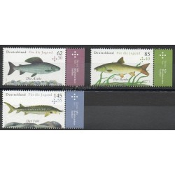 Allemagne - 2015- No 2976/2978 - Poissons