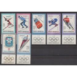 Roumanie - 1967 - No 2329/2335 - Jeux olympiques d'hiver