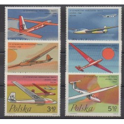Pologne - 1968 - No 1696/1701 - Aviation