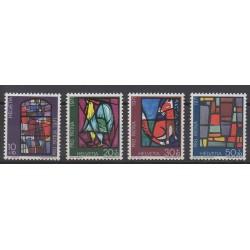 Swiss - 1971 - Nb 878/881 - Art