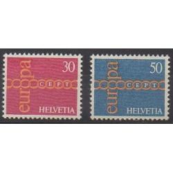 Swiss - 1971 - Nb 882/883 - Europa