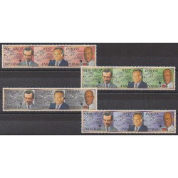 Trinidad and Tobago - 1994 - Nb 685/688 - Celebrities