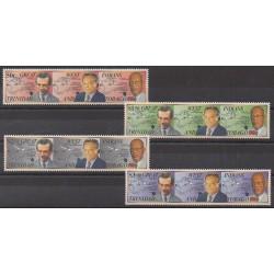 Trinité et Tobago - 1994 - No 685/688 - Célébrités