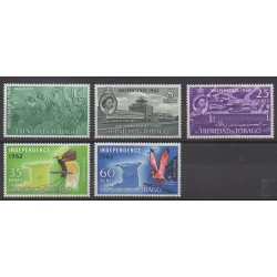 Trinidad and Tobago - 1962 - Nb 192/196 - Various Historics Themes