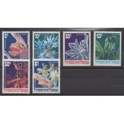 Trinidad and Tobago - 1978 - Nb 384/389 - Masks or carnaval