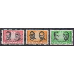 Trinité et Tobago - 1985 - No 519/521 - Célébrités