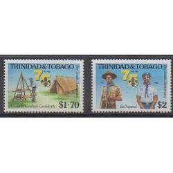 Trinité et Tobago - 1986 - No 545/546 - Scoutisme