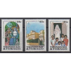 Trinidad and Tobago - 1986 - Nb 538/540 - Religion