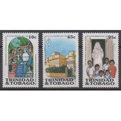 Trinité et Tobago - 1986 - No 538/540 - Religion