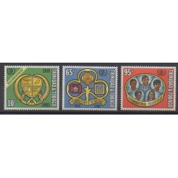 Trinidad and Tobago - 1985 - Nb 529/531 - Scouts