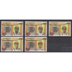 Trinidad and Tobago - 1988 - Nb 589/593 - Various sports
