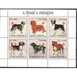 Saint-Thomas et Prince - 2003- No 1506/1511 - Chiens