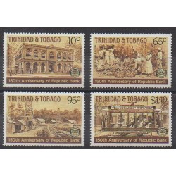 Trinidad and Tobago - 1987 - Nb 572/575 - Various Historics Themes