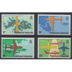 Falkland - 1979 - No 283/286 - Aviation