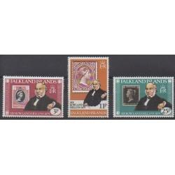 Falkland - 1979 - No 287/289 - Timbres sur timbres