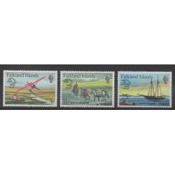 Falkland - 1979 - No 290/292 - Service postal