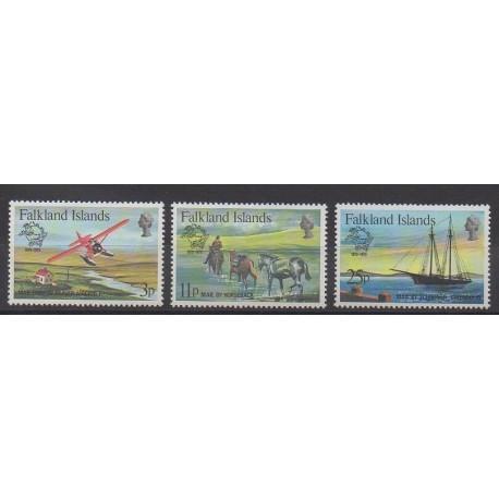 Falkland - 1979 - Nb 290/292 - Postal Service