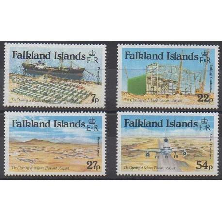 Falkland - 1985 - Nb 436/439 - Planes