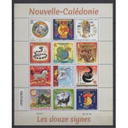 New Caledonia - 2019 - Nb F1352 - Horoscope