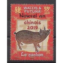 Wallis and Futuna - 2019 - Nb 903 - Horoscope