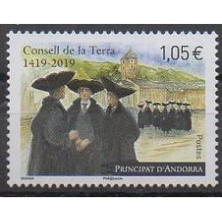 Andorre - 2019 - No 827 - Histoire
