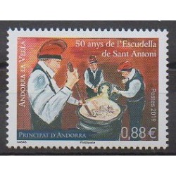 French Andorra - 2019 - Nb 826 - Gastronomy