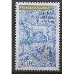 Andorre - 2019 - No 825 - Littérature