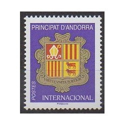 French Andorra - 2019 - Nb 824 - Coats of arms