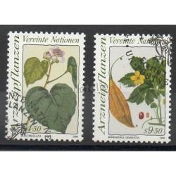 Nations Unies (ONU - Vienne) - 1990- No 106/107 - Fleurs - Oblitéré