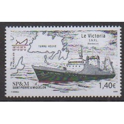Saint-Pierre and Miquelon - 2019 - Nb 1216 - Boats
