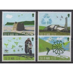 Man (Isle of) - 2016 - Nb 2244/2247 - Environment