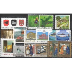Lettonie - 2003 - No 554/572