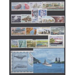 French Southern and Antarctic Territories - Complete year - 2011 - Nb 578/601