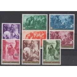 Rwanda - 1967 - No 205/212 - Peinture