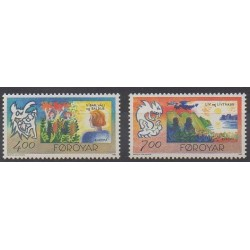 Faroe (Islands) - 1995 - Nb 272/273 - Europa