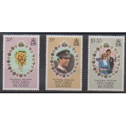 Pitcairn - 1981 - No 202/204 - Royauté - Principauté
