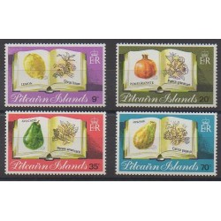 Pitcairn - 1982 - Nb 207/210 - Fruits or vegetables
