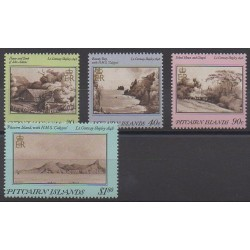 Pitcairn - 1987 - No 291/294 - Peinture