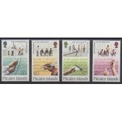 Pitcairn - 1988 - No 309/312 - Histoire militaire