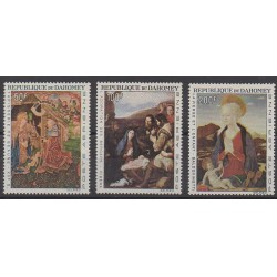 Dahomey - 1966 - Nb PA50/PA52 - Paintings - Christmas