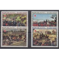 Dahomey - 1968 - No PA81/PA84 - Santé ou Croix-Rouge - Histoire militaire