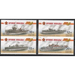 Russia - 2013- Nb 7391/7394 - Boats