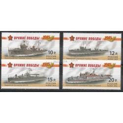 Russie - 2013- No 7391/7394 - Bateaux