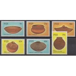 Fidji - 1988 - No 581/586 - Artisanat ou métiers