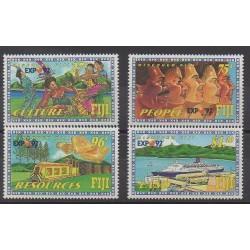 Fiji - 1992 - Nb 666/669 - Tourism