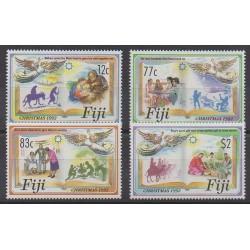 Fiji - 1992 - Nb 685/688 - Christmas